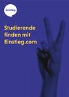 thumbnail of Studierende finden mit einstieg.com – Aussteller