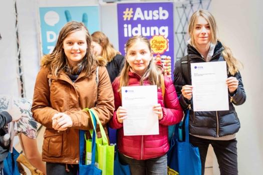Berufe Challenge auf der Einstieg Karlsruhe