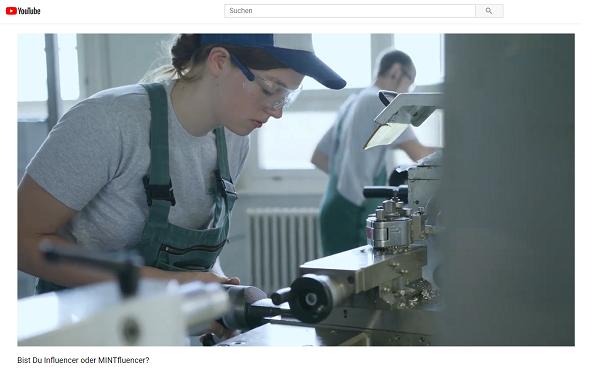 MINTfluencer-Kampagne von Siemens
