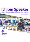 Werbebanner für XING/LinkedIn Ich bin Speaker Thumbnail